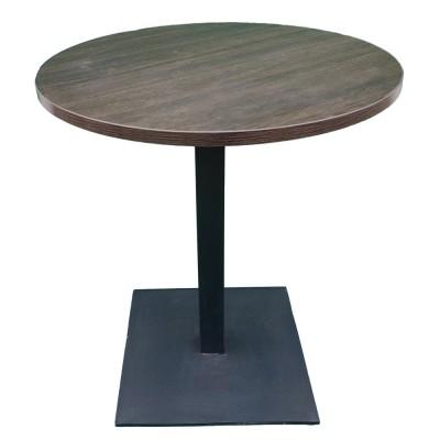 Стол универсальный круглый с металлической ножкой. Модель КР18-1