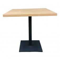 Стол универсальный квадратный с металлической ножкой. Модель КВ18-2
