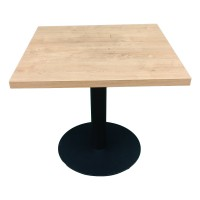 Стол универсальный квадратный с металлической ножкой. Модель КВ18-3