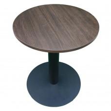 Стол универсальный круглый с металлической ножкой. Модель КР18-4