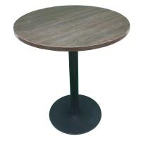 Стол универсальный круглый с металлической ножкой. Модель КР18-5
