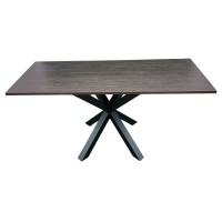 Стол обеденный с устойчивой металлической ножкой. Модель ПУ18-7